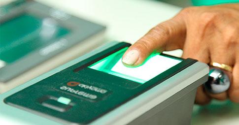 Cadastramento biométrico eleitoral no Poupatempo